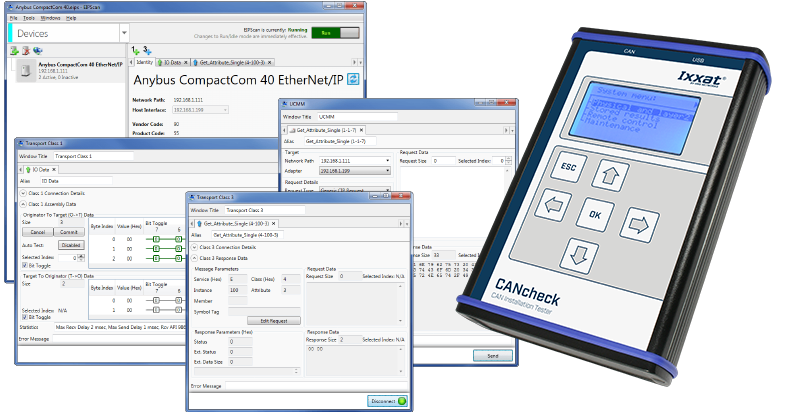 Diagnosis and Configuration tools for CAN